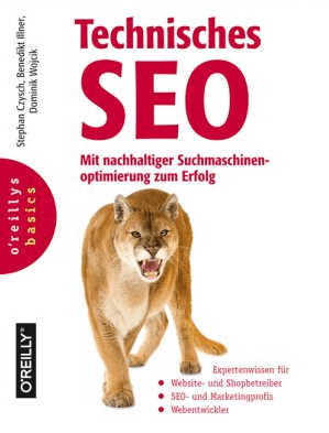 Technisches SEO Buch Cover