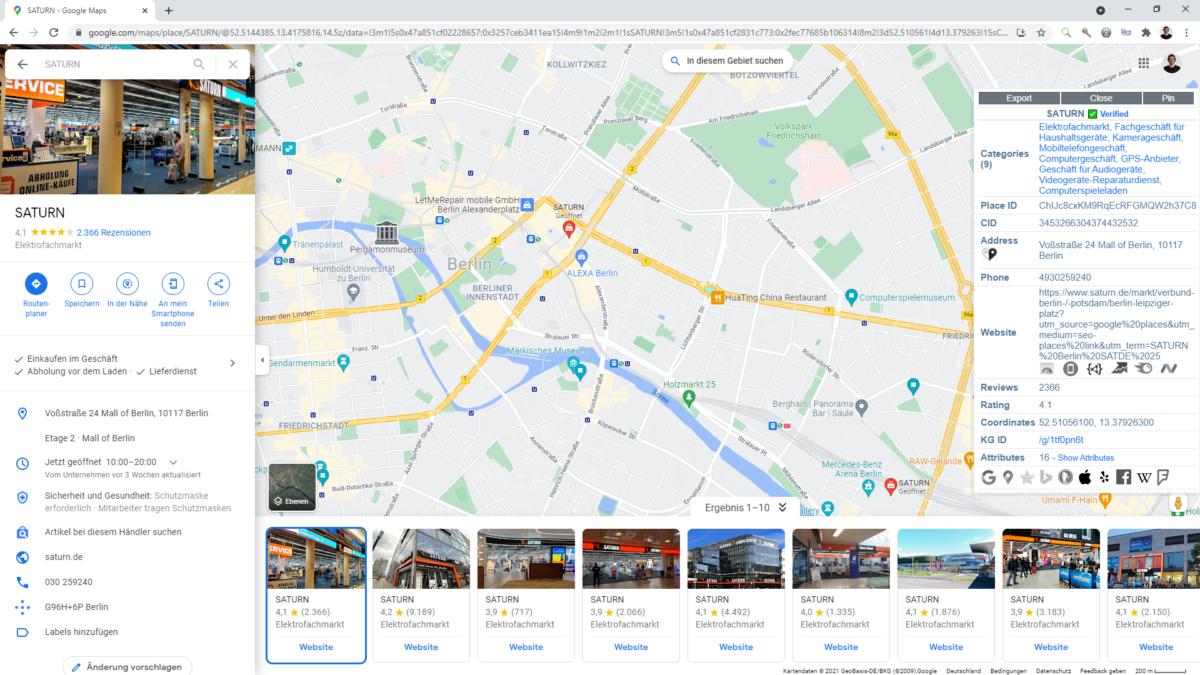 Das Browser-Plugin von pleper macht die local SEO-Arbeit einfacher